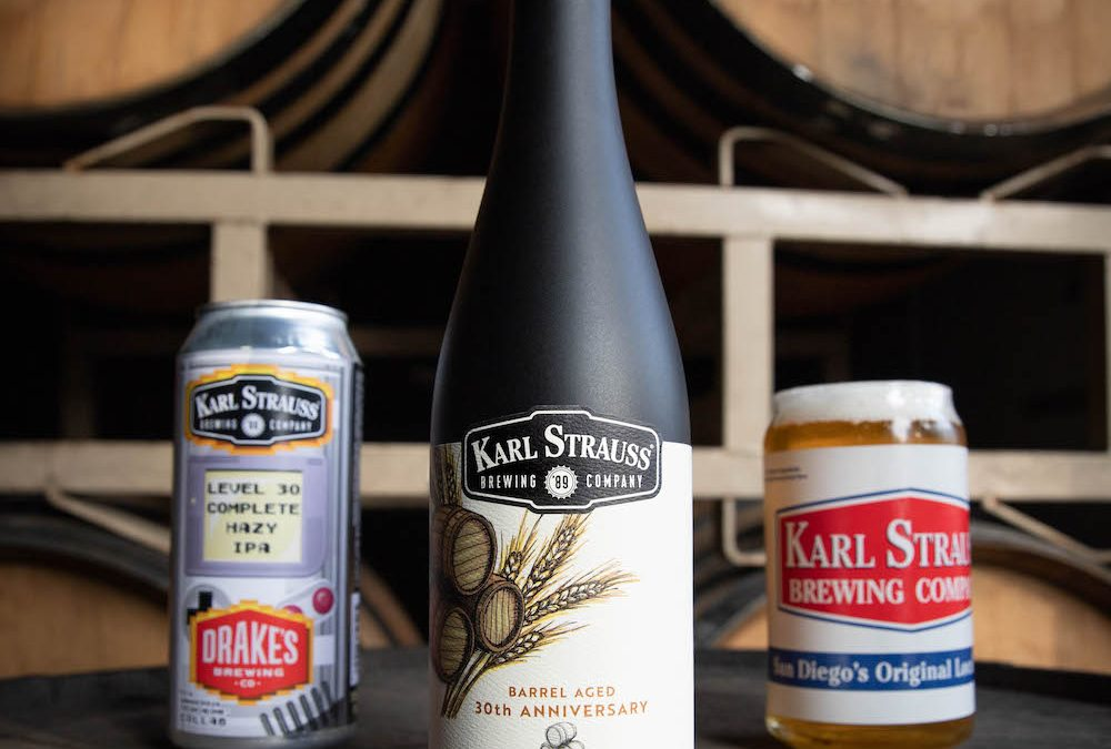 Karl Strauss Announces Beer Releases for 30th Anniversary