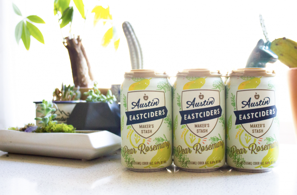 Austin Eastciders Releases Pear Rosemary Cider