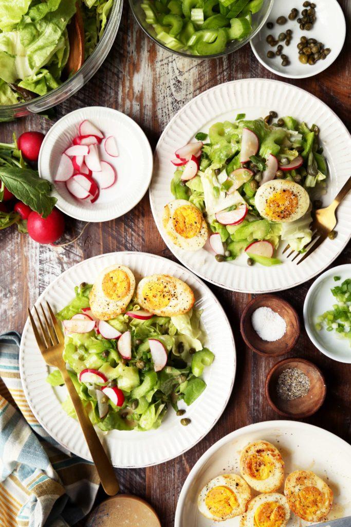 Pan-Fried Egg Salad