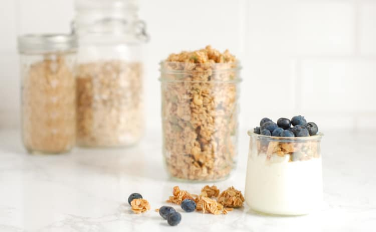 "Easy ""Clean Out the Pantry"" Granola"