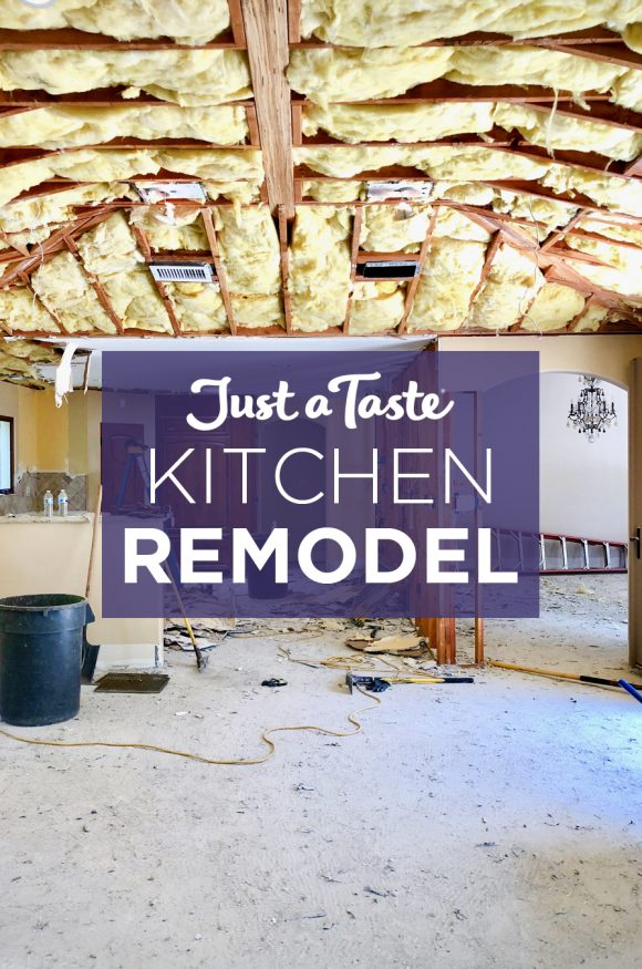 The Just a Taste Kitchen Remodel