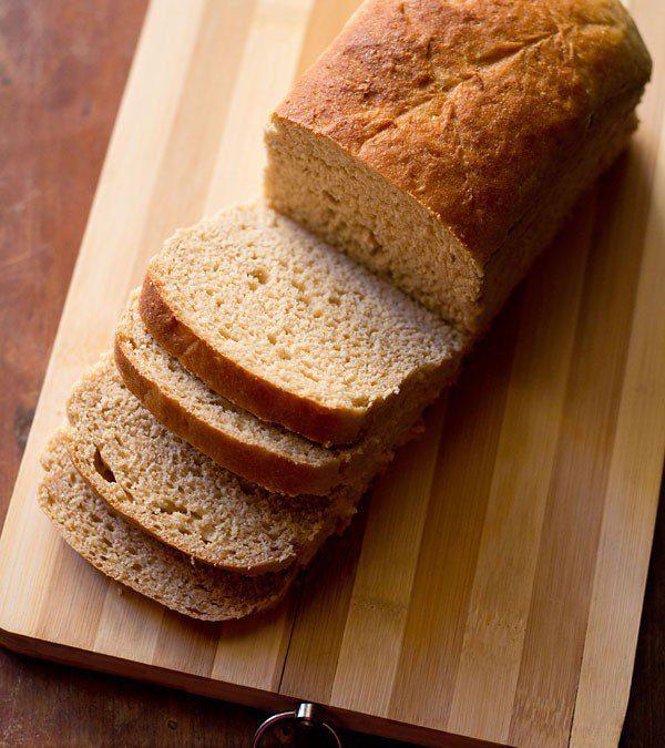 wheat bread recipe | atta bread recipe | 100% whole wheat bread