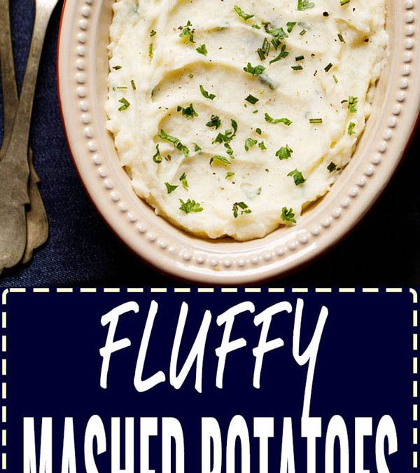 mashed potatoes | how to make mashed potatoes (fluffy & light)