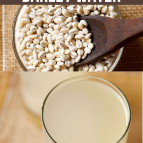 Barley Water (Stove-top & Instant Pot)