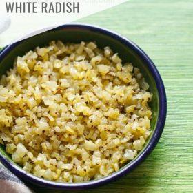 Mooli ki Sabji (Easy Radish Recipe)