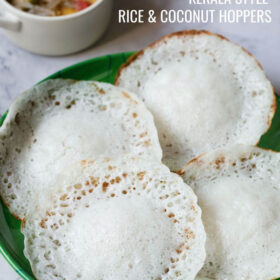 Appam (Rice & Coconut Hoppers)