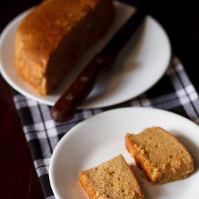 Mawa Cake (Eggless & Whole Wheat)